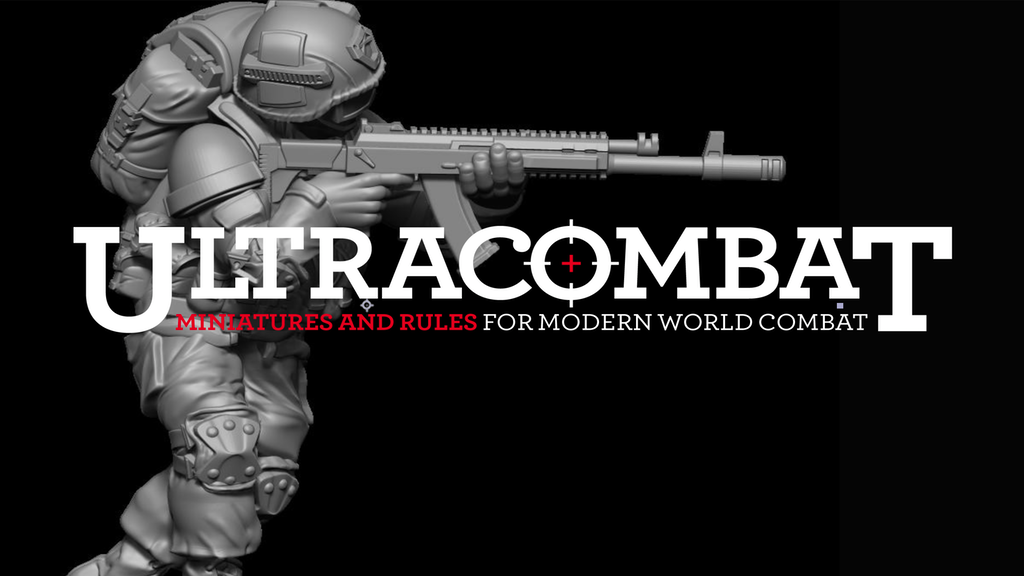 Ultracombat 28mm Modern Miniatures and Skirmish Rules project video thumbnail