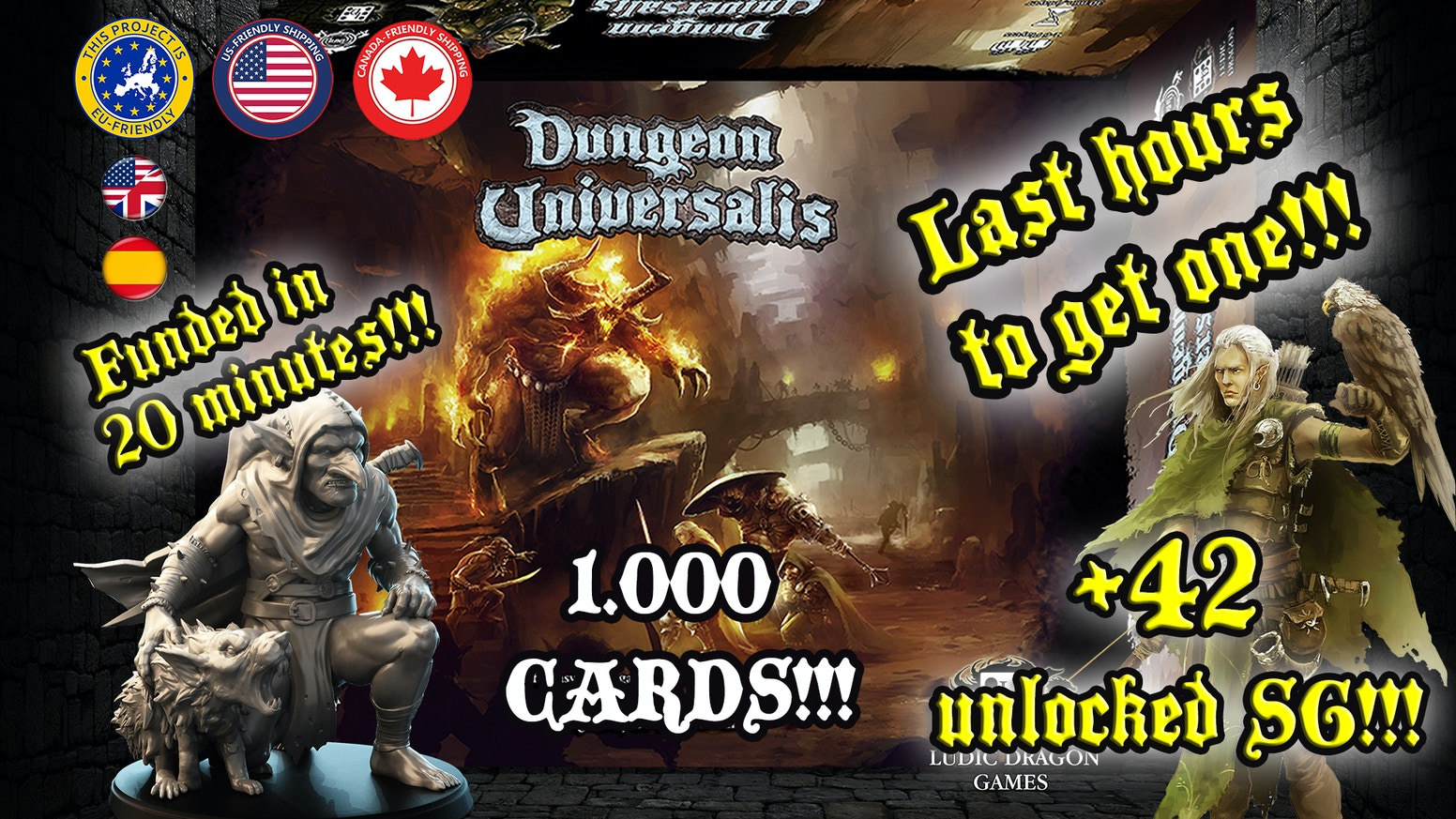 Dungeon Universalis by Ludic Dragon Games — Kickstarter