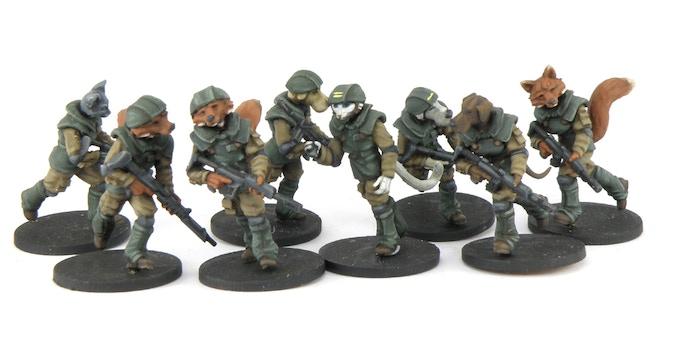 EDF Heavy Infantry