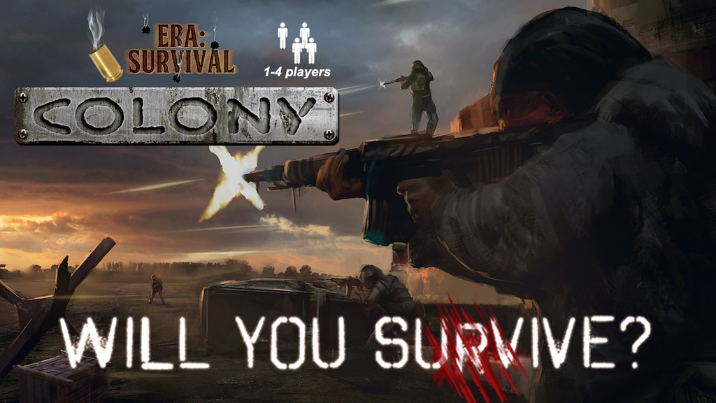 Era: Survival Colony - A co-op card game for 1-4 players project video thumbnail