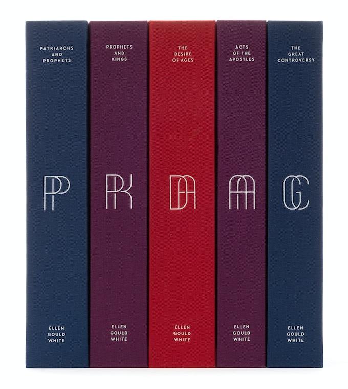 Five-Volume Set in the Sanctuary Color Palette