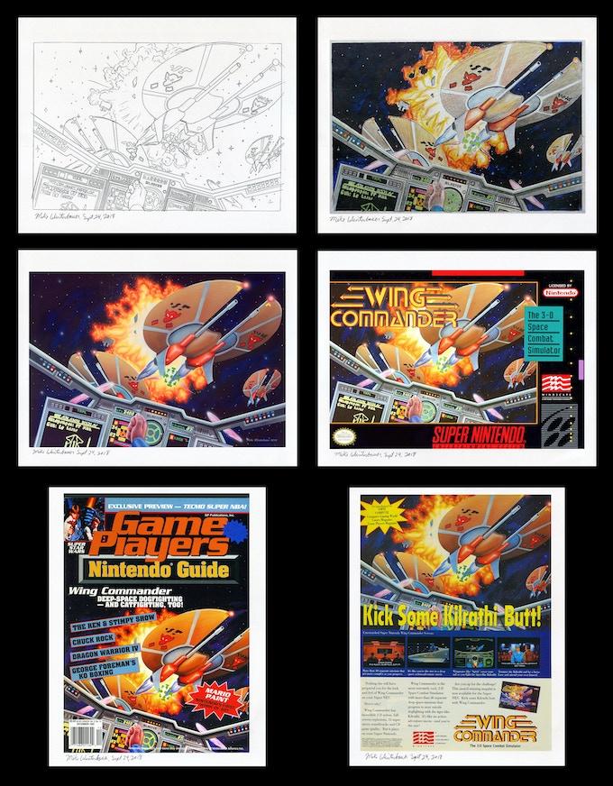 Six beautiful prints!
