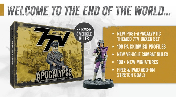 7TV:Apocalypse - skirmish rules & 28mm miniatures by Crooked