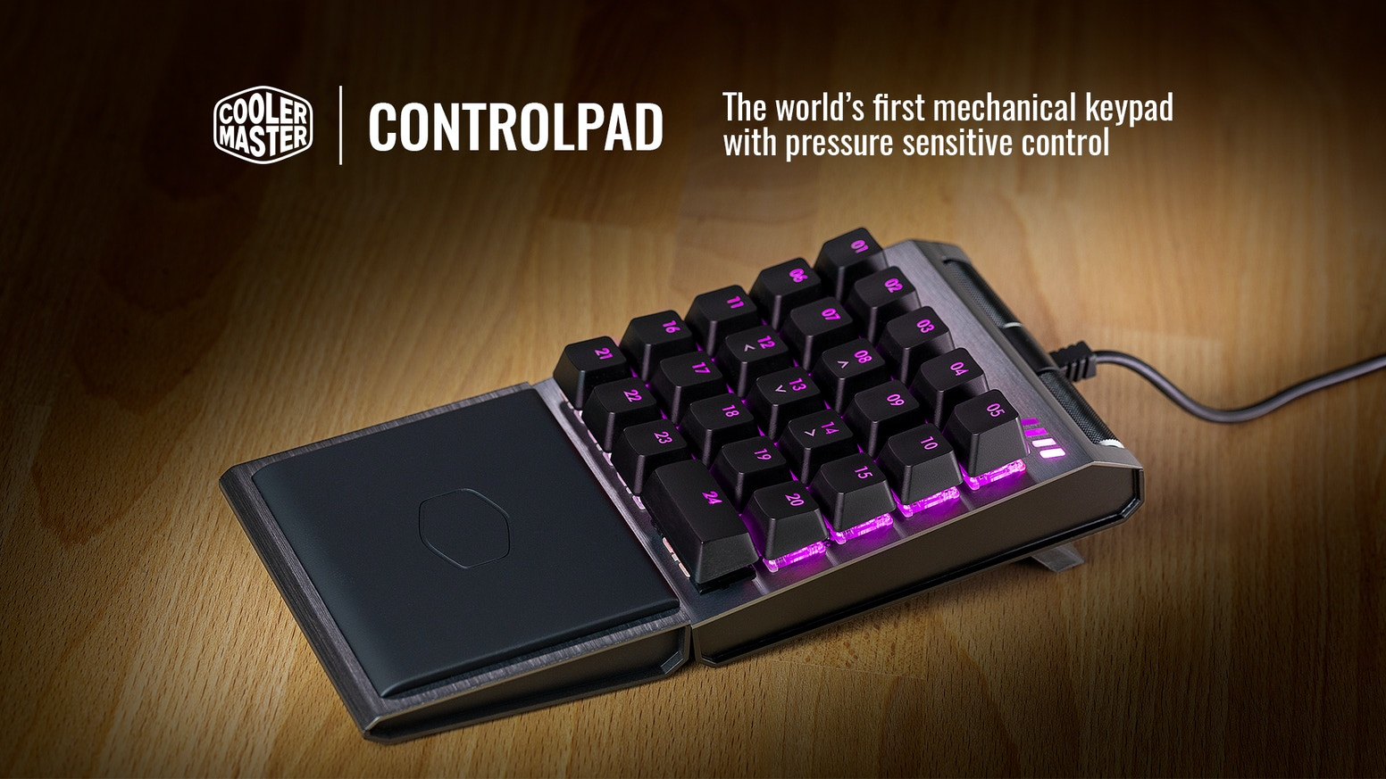 ControlPad - 24 Keys with Analog Control Technology by