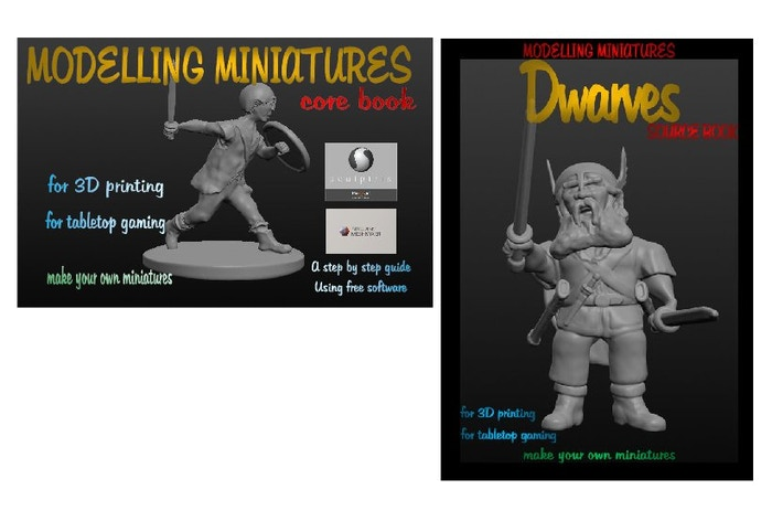 Modelling Miniatures Core Book & Dwarves Source Book by