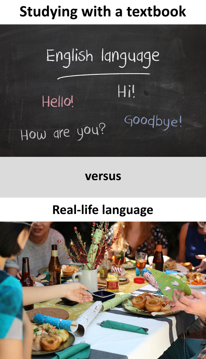 Moment-rec helps you to learn real-life language