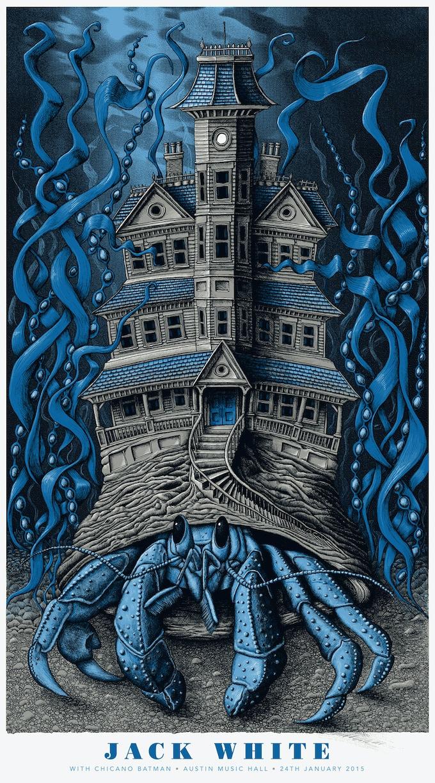 Mishka Westell Jack White Print