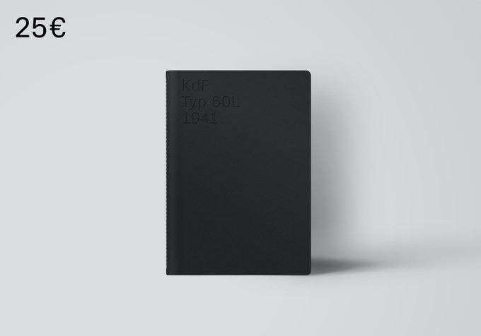 Large bound notebook ideal for planning your own project. [25€ + Shipping]