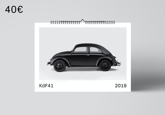 A3 calendar 2019 with the most beautiful photos of the car. [40€ + Shipping]