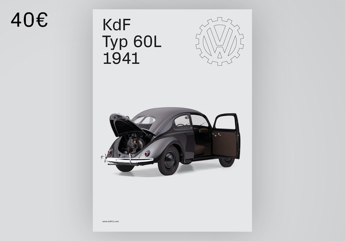 B2 poster printed in premium quality. Perfect decoration for your garage. [40€ + Shipping]