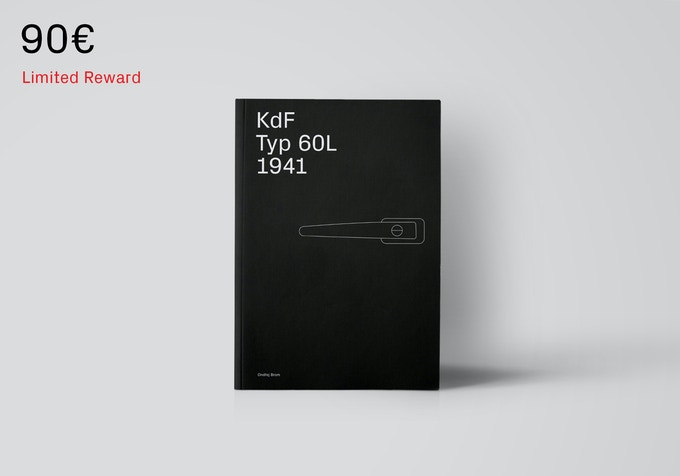First edition of the book (which is already printed) will be sent immediately after we reach our goal. [90€ + Shipping]