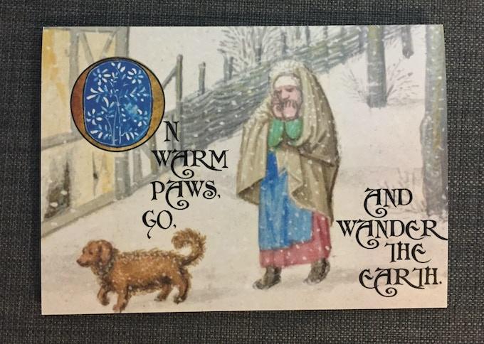 Wintery Medieval Doggo