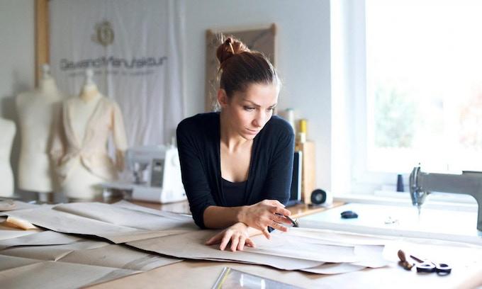 Karolin Fischer - designer at Gewand Manufaktur
