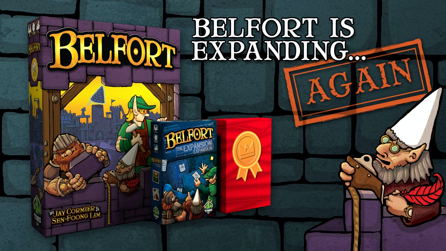Belfort has been out of print too long - so now it's back with BRAND NEW content!