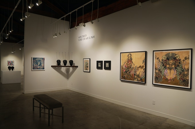 SFWAM exhibition at the acclaimed Corey Helford Gallery in Los Angeles