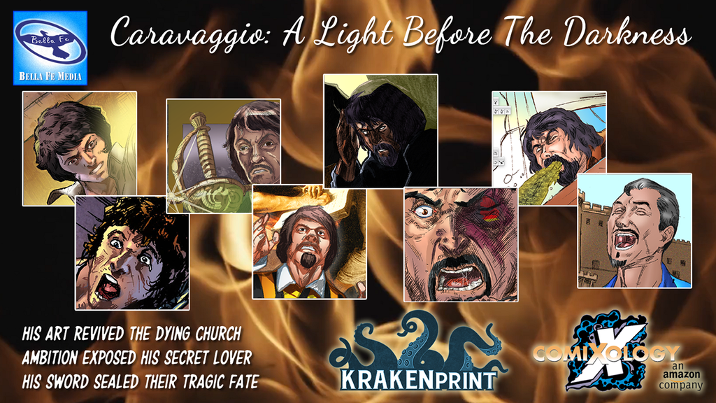Caravaggio: A Light Before the Darkness - IN PRINT project video thumbnail