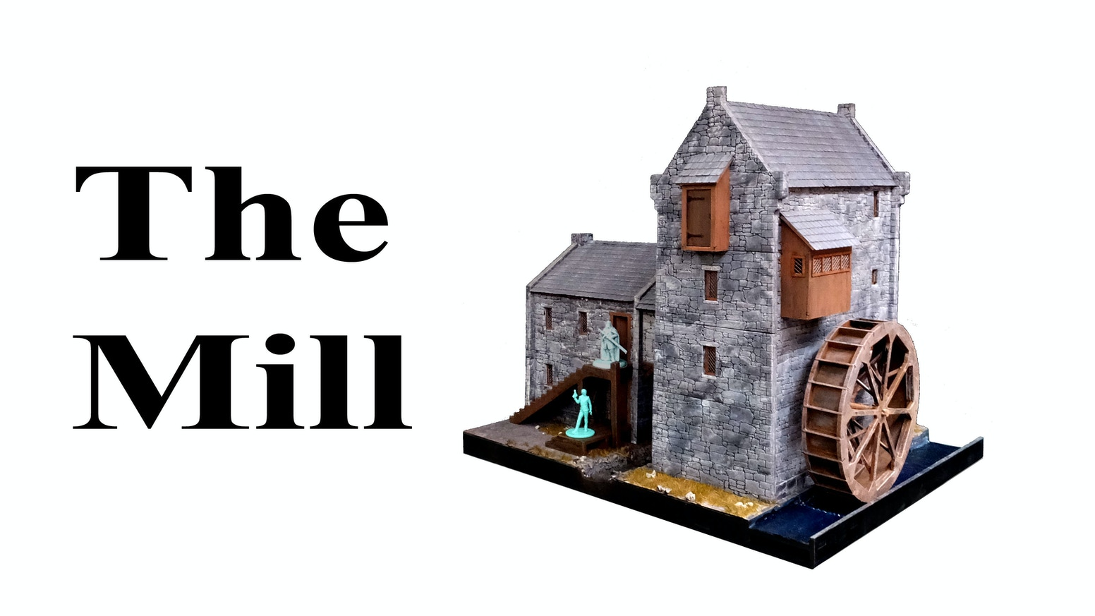 28mm Wargame Water Mill terrain building  The best of MDF