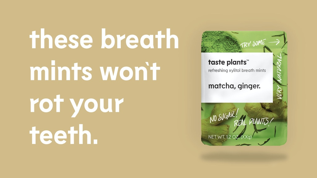 Taste Plants - Breath Mints that are Good for You project video thumbnail