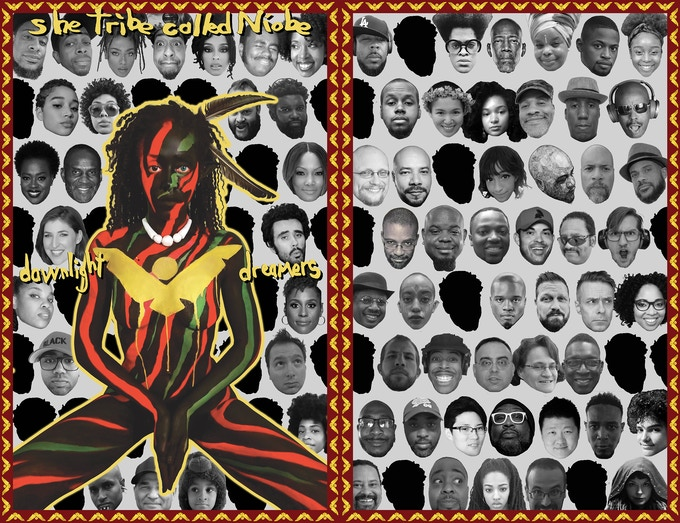 A Tribe Called Quest homage cover! She Tribe Called Niobe!