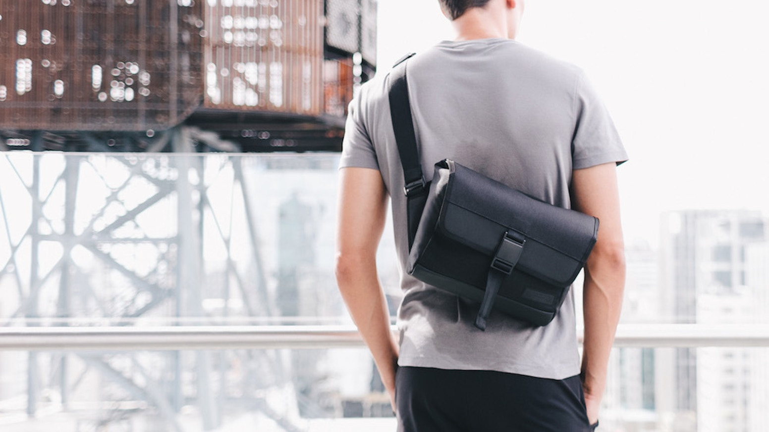 The perfect low-profile, quick-access day bag for light carry.