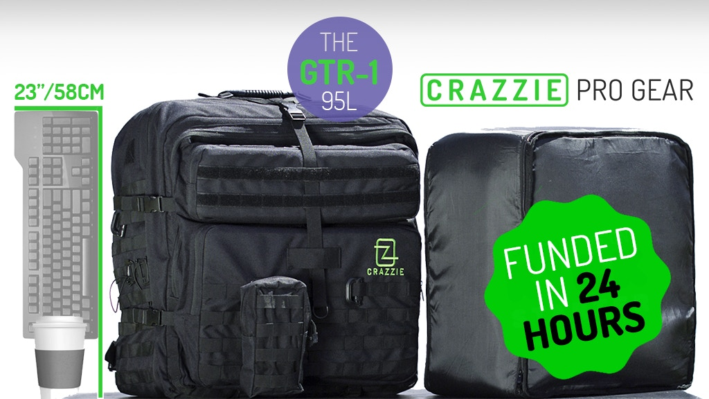 GTR1 Backpack, Space for Everything (PC, Board Games, Tech+) project video thumbnail
