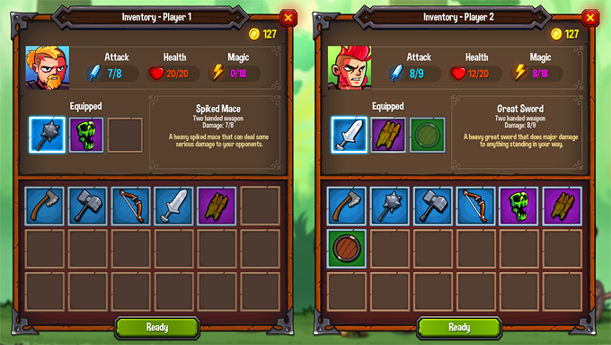 2 player inventory