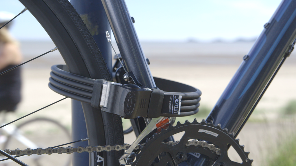 Litelok Silver: The world's lightest secure bike lock project video thumbnail