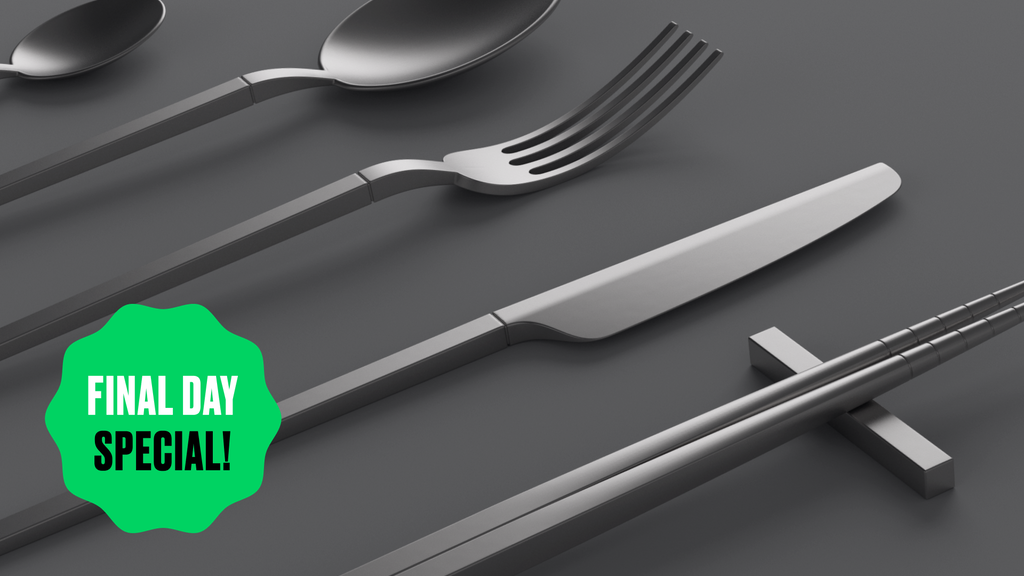 Ensō: Eco-Friendly Pure Titanium Cutlery, Chopsticks & Straw project video thumbnail