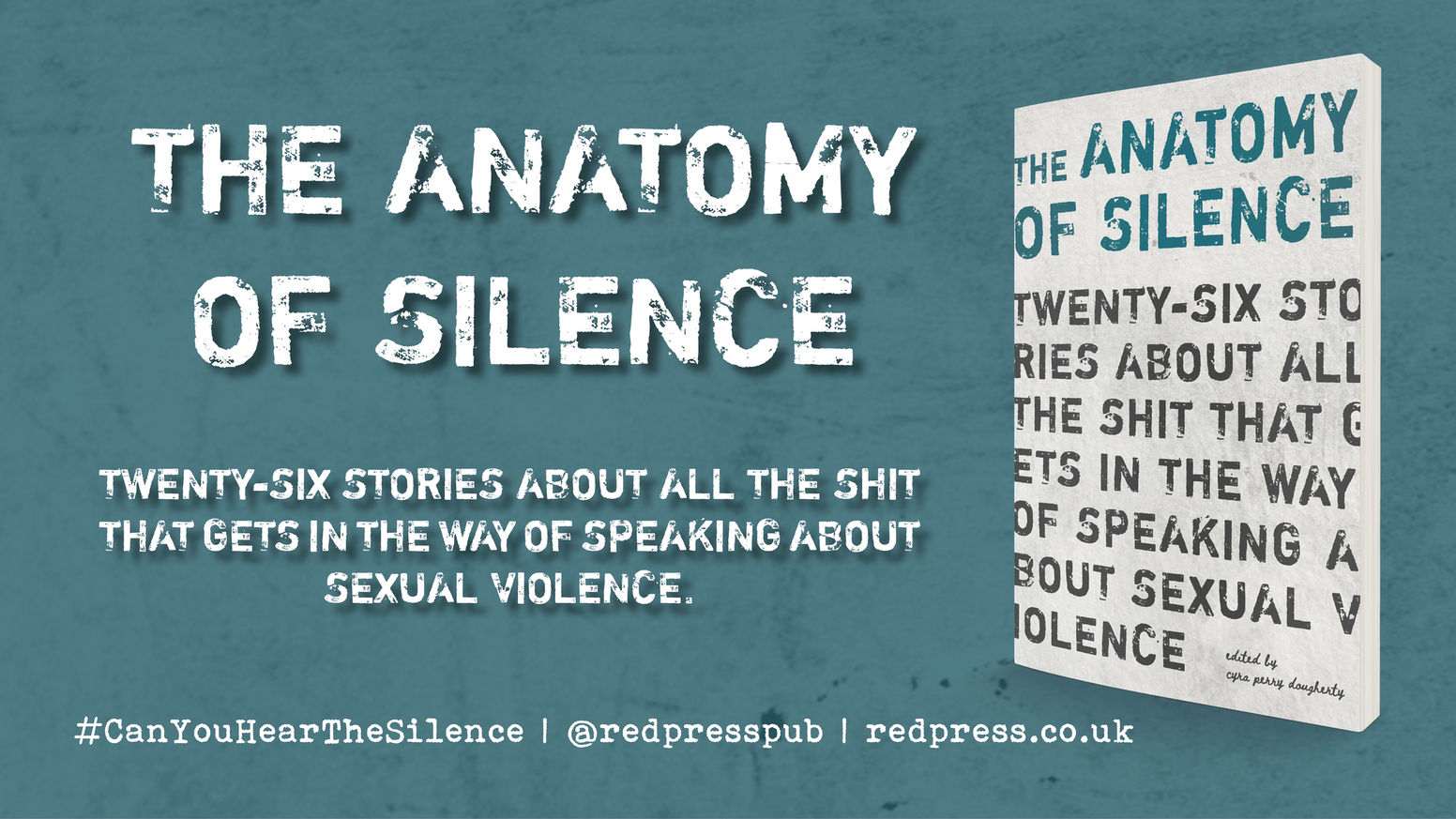 An anthology of essays by survivors and allies that tackles the culture of silence surrounding sexual violence. In this culture of silence, our book is unapologetically loud. Will you listen?