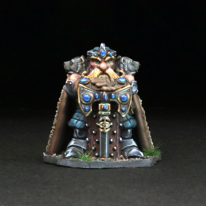 Dwarven King w/Dragon Scale Armor