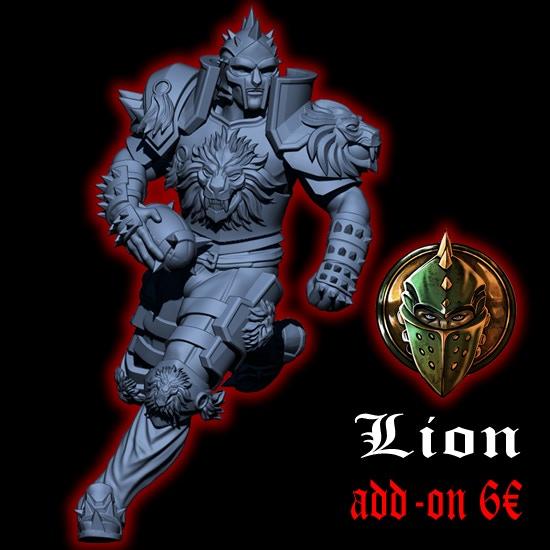 Lion, The Gladiator Star Player
