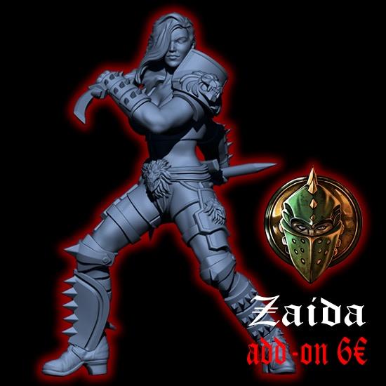 Zaida, The Huntress Star Player