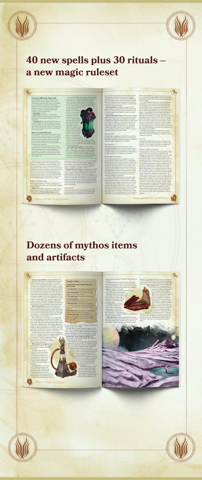 Sandy Petersen's Cthulhu Mythos for 5e by Sandy Petersen — Kickstarter