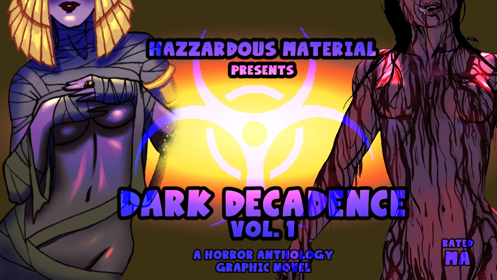 Project image for Hazzardous Material presents Dark Decadence Vol. 1