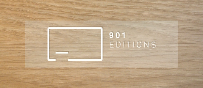901 logo sticker (free!)