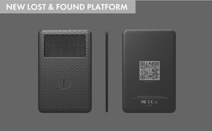 Each tracker has a unique QR code that links it to your smartphone like a fingerprint. Scanning this QR code will put the finder in touch with you immediately via a notification.