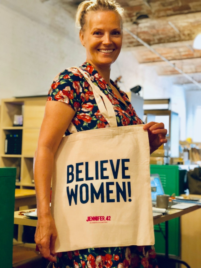 Elle with Believe Women! Tote