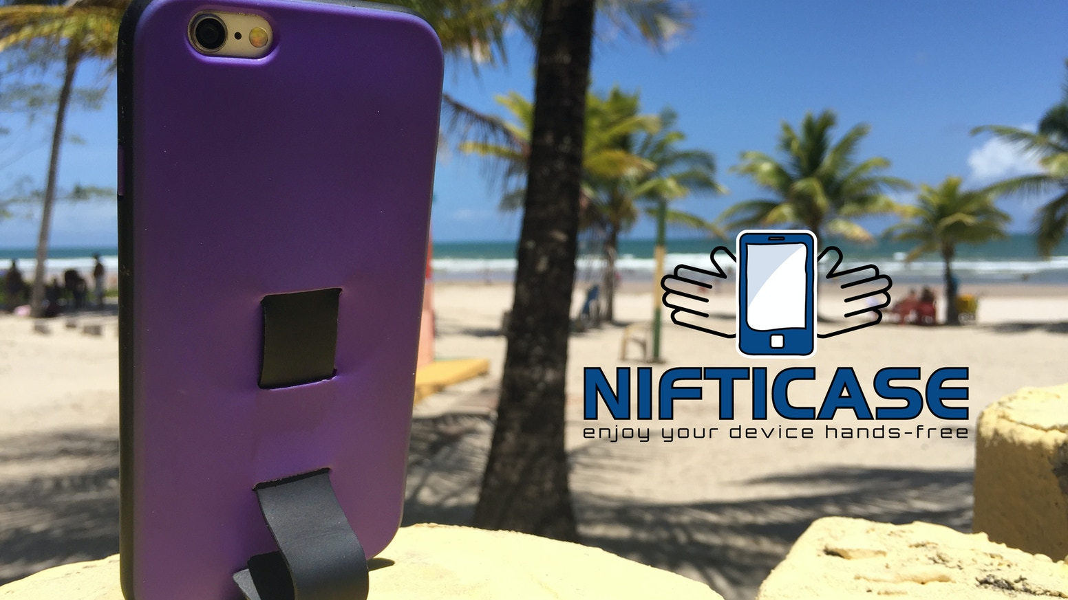 Nifticase is a multifunctional, all-in-one iPhone case and mount that helps you live in the moment