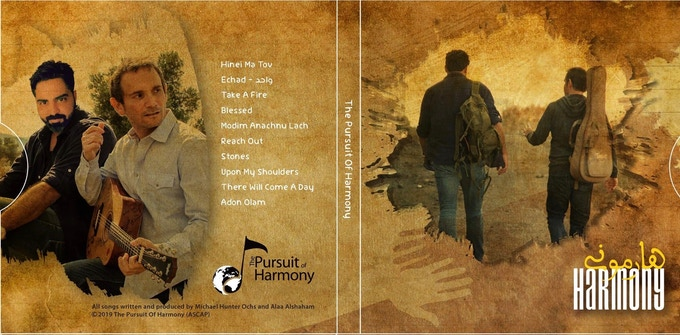 Preview of the CD Cover - front and back