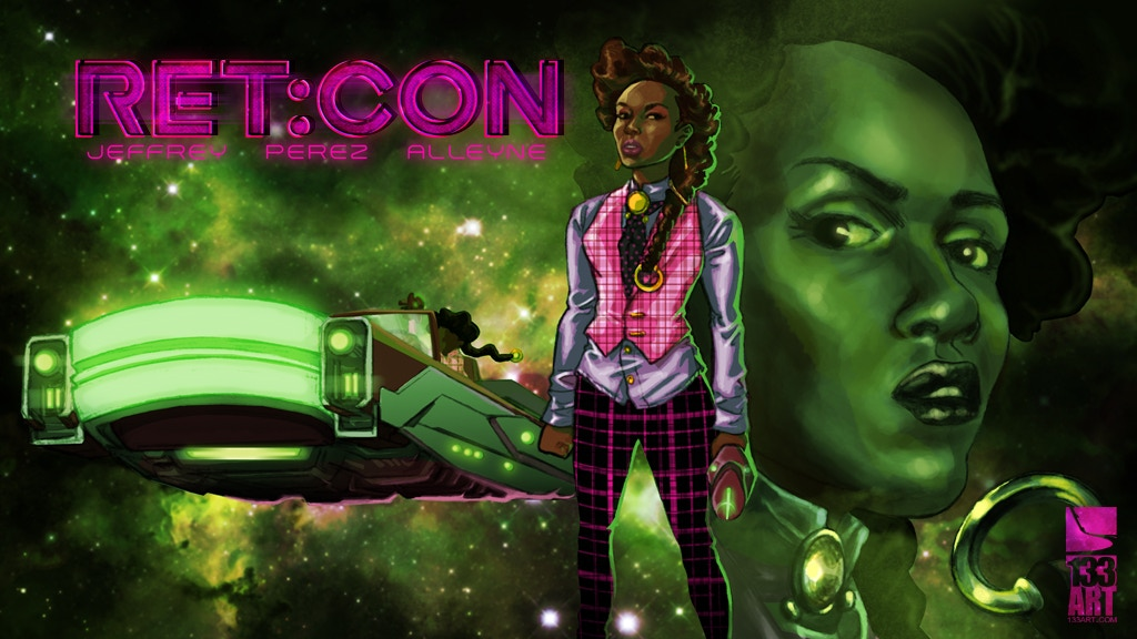 RET:CON issue #1 : A 133art Afrofuturist/Sci-fi tale. project video thumbnail
