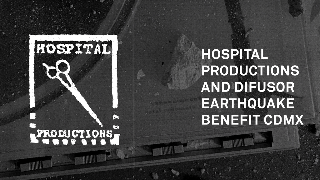 Hospital Productions/Difusor Earthquake Benefit CDMX project video thumbnail