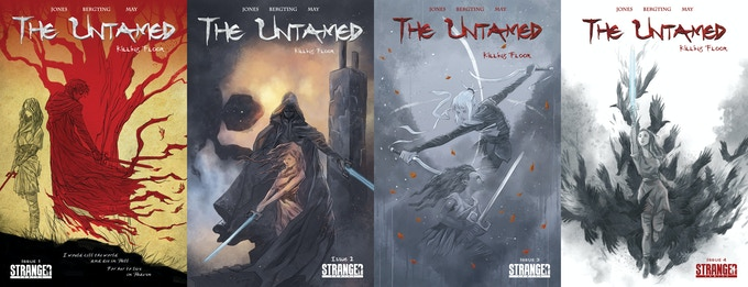 The Untamed: Killing Floor SIGNED Bergting Set