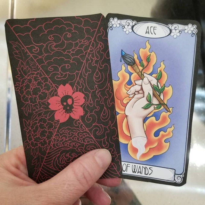 Test Print of the Front & Back. This is Only a Test. NOT what the actual Cards look like but close.