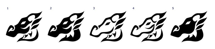Design number 3 seems to be the one they're favouring for engraving