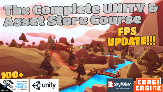 Track The Complete UNITY & Asset Store Game Dev  Course FPS update's