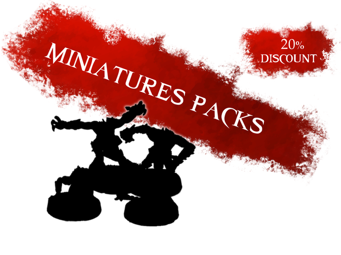 Each of the following packs available with a 20% discount