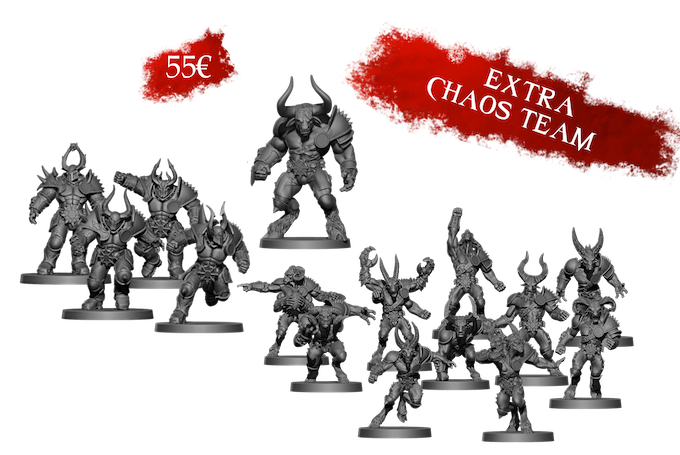 If you take an Early Bird, each extra Chaos team you get will have the same conditions
