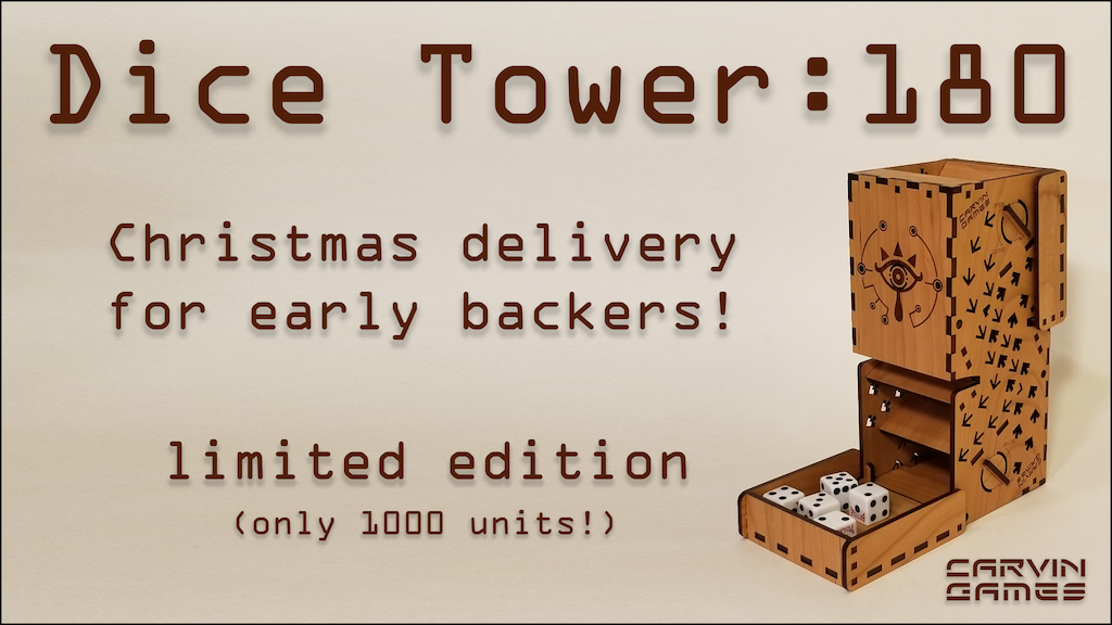 Dice Tower:180 project video thumbnail