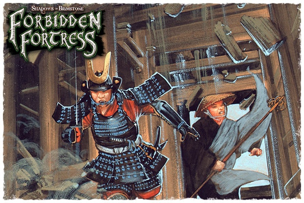 Shadows of Brimstone: Forbidden Fortress | Miniset net