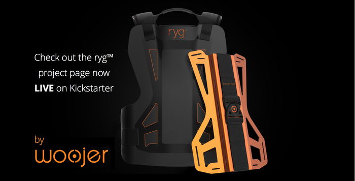 Press the orange button below to visit our InDemand page for ryg™ by Woojer on Indiegogo